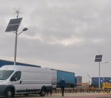 10M 80W alimentada a energia solar LED de energia luzes da rua na lista de preços