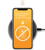 Cargador sin hilos del teléfono móvil/cargador sin hilos del iPhone/cargador sin hilos