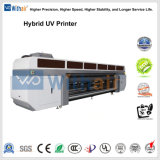 1,25m*2,5 UV hoja a hoja y rollo a rollo impresora híbrida