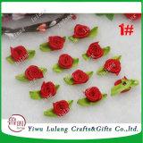 La mini cerimonia nuziale del mestiere del fiore della Rosa del nastro del raso Appliques la decorazione DIY