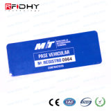 Modifica passiva del parabrezza di frequenza ultraelevata 860-960MHz dell'autoadesivo astuto di RFID