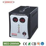 Оптовая торговля 2000VA 2 квт мощности автоматический стабилизатор напряжения переменного тока регулятора давления топлива