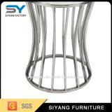 現代ステンレス鋼の側面のコーヒーテーブル(Ikeaの側面表)