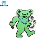 다채로운 금속 사기질 춤 곰 Pin 기장 제조자