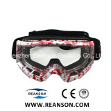 Месте новый дизайн печати Professional перфорированный Motocross защитные очки