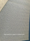 Kundenspezifische Belüftung-überzogene Gleitschutzteppich-Unterlage