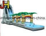 Glissière d'eau gonflable orientée de forêt tropicale avec le syndicat de prix ferme pour l'amusement