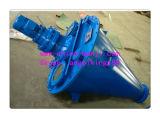 Dsh série double cône de la vis de l'engrais mélangeur mélangeur / double vis