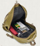 Backpack мешка человека тенденции мешка плеча холстины мешок перемещения двойного вскользь напольный