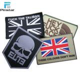 Zona del Regno Unito di morale tattico su ordinazione della bandierina del PVC militare dell'amo & del ciclo