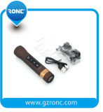 Haut-parleur radio fm de Bluetooth de côté de pouvoir de lampe-torche de la carte DEL de FT