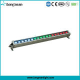 18PCS 12W Rgbaw 5in1 im Freien LED Wand-Reinigung