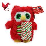 Hotsale un jouet en peluche animal singe de Noël