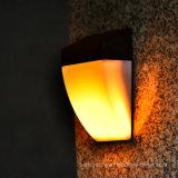 Lumière imperméable à l'eau extérieure solaire de la lampe 24 DEL du détecteur de mouvement de PIR DEL avec 4 modes