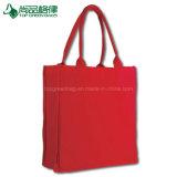 Do algodão da lona da fantasia do cliente os sacos 100% de Tote vendem por atacado o portador da compra