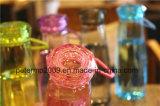 De stevige Fles van het Water van de Sporten van de Kop van de Diamant van de Kleur Transparante Plastic Openlucht