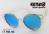 Cat Eye солнечные очки с помощью специальной рамы км17178