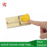 Desvío plástico del broche de presión del ratón de madera del Pin de metal del pedal del cebo