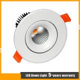 15W에 의하여 중단되는 크리 사람 LED 옥수수 속 Downlight 또는 스포트라이트 또는 천장 빛