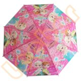 Розовый цвет дешевые мало детей четкий и прозрачный Poe зонтик
