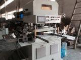 Aluminiumfolie/Haustier-/schützender Film-hydraulische stempelschneidene Maschine mit Förderanlage