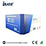 Heiß! 2.4 Zoll LCD-videobroschüre für Geschäft/Geschenk