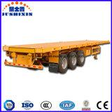 3 Plate-forme d'essieu à plat semi-remorques de camions de transport de conteneurs