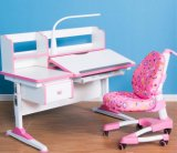 Home Furniture manual Height Adjustable Children Desk for Kids Study