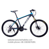 Bici de montaña del acero de carbón de la velocidad de la pulgada 21 de la alta calidad 26