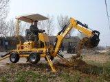 Mini excavador móvil de la rueda Hqlw-18 con CE