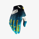 L'attrezzo protettivo di motocross del guanto di 100% MTB mette in mostra i guanti