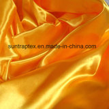 Polyester Tissu satiné avec soft-touch pour Hometextile