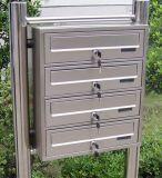 Personnalisé de haute qualité en tôle en acier inoxydable Letter Box