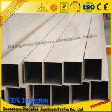 pipe en aluminium ronde/par grand dos anodisée de 6000series de tube d'aluminium