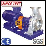 Horizontaler DuplexEdelstahl-zentrifugale chemische Pumpe