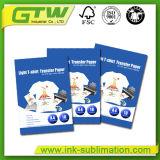 Documento di trasferimento professionale della maglietta nel formato A4 per colore chiaro