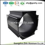 Cilindro de perfil de aluminio anodizado de fábrica para el motor Shell