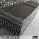 Strato di superficie solido acrilico del fornitore nero puro di qualità