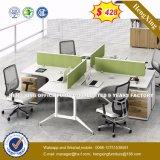 中国はカスタマイズしたMDF木ワークステーションオフィス用家具(HX-6M207)を