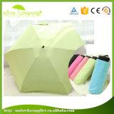 熱い販売のカスタム繭紬ファブリックポータブル5の折る小型傘