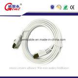 高品質CAT6 RoHS平らなネットワークジャンパー線