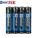 Eco-Frindly AAA Lr03 Am4 1.5V 1400mAh 알카리 전지
