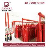 Comercio al por mayor de equipos de extinción de incendios eléctricos Ig541 80L Sistema de supresión de incendios