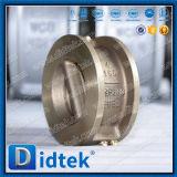 Didtek API 6D из нержавеющей стали с двумя пластину полупроводниковая пластина клапана