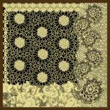 型の正方形のスカーフをカスタム設計しなさい