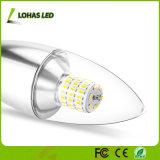 실내 점화 천장 선풍기 빛 샹들리에를 위한 Lohas E12 7W 일광 5000K LED 초 전구