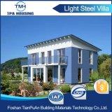 Hogar prefabricado de la estructura de acero de la luz del diseño moderno para la vocación