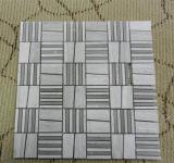 Carrara/Royal/baldosas de mármol blanco orientales//losas de granito espina de pez/cesta/Seangle azulejos de mosaico
