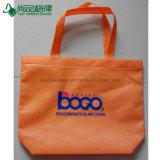 Les poly sacs à main non tissés ultrasoniques de sac à provisions de propylène avec le logo ont estampé