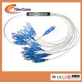 FTTH Gpon PLC Sc 2 4 8 16 32 64 128 coeurs doubleur de fibre optique